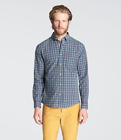 Jack Spade model shows San Francisco what its missing in this Jarrett plaid shirt