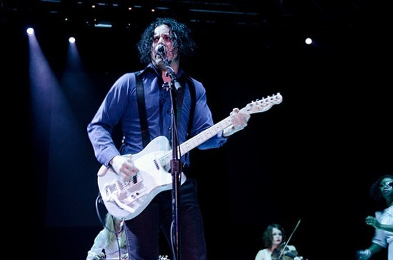 Jack White at Not So Silent Night. Slideshow: Not So Silent Night Photos - GIL RIEGO, JR.