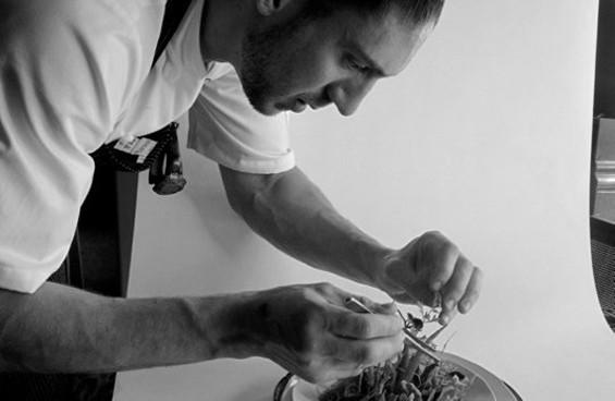 James Beard Rising Star Chef finalist Aaron London. - UBUNTU