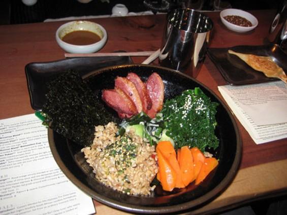 Japanese Maki Bowl with Duck - JANINE KAHN