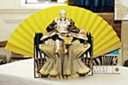 JAMES  SANDERS - Japanese Throne.