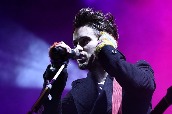 Jared Leto of 30 Seconds to Mars - CHRISTOPHER VICTORIO