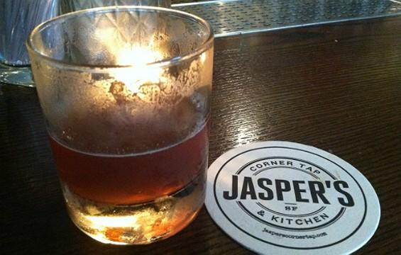 Jasper's 6ft High and Rising cocktail. - JASON HENRY