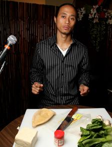 Jay-Ar Isagani Pugao of Oakland's No Worries.