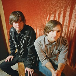 Jay Farrar (left) and Ben Gibbard channel Big Sur.