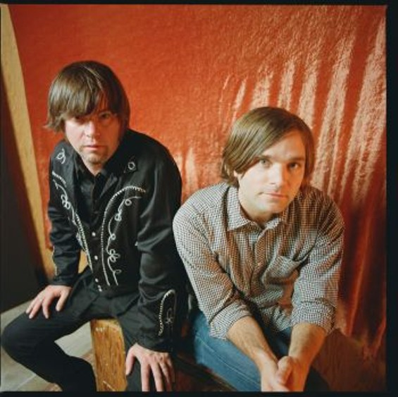 Jay Farrar (left) and Ben Gibbard - AUTUMN DE WILDE