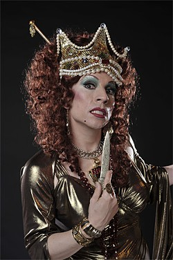 WWW.DAVIDALLENSTUDIO.COM - Jef Valentine as Theodora.