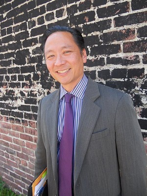 "Jeff Adachi insisted he was ""very pleased with the judge's decision."" - JOE ESKENAZI"