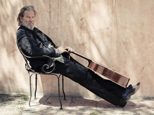 Jeff Bridges, being quite Dude-like. - DANNY CLINCH