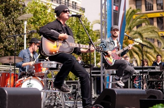 Jenkins and Third Eye Blind performing in S.F.
