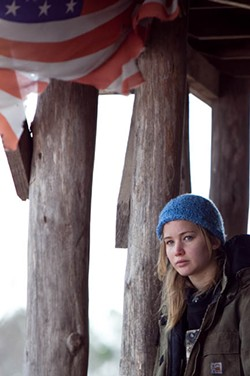 Jennifer Lawrence plays Ree, a tough-minded girl who goes looking for her father.
