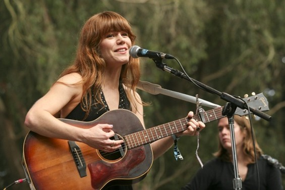 Jenny Lewis at Hardly Strictly on Friday - CHRISTOPHER VICTORIO