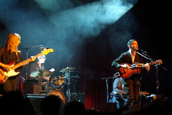Jens Lekman and band at the Fillmore last night. Photos by the author.