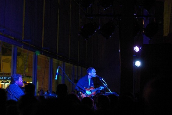 Jens Lekman at the Cal Academy of Sciences last night.