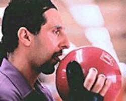 JOEL  COEN - Jesus (John Turturro) really likes his - bowling ball.