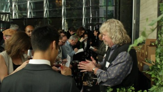 Jim Clendenen from Au Bon Climat talks to tasters at Last Year's In Pursuit of Balance