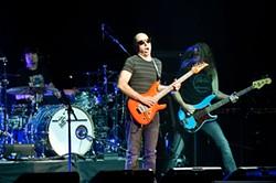 RICHARD HAICK - Joe Satriani wailing at the Fox.