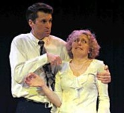 BATS  IMPROV - John Kovacevich and Diane Rachel, making - it up as they go.