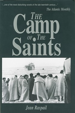 John Tanton's Social Contract Press publishes the - white nationalist novel The Camp of the Saints.