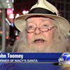Fired Santa John Toomey Takes Lefty O'Doul's Gig -- Doubles Salary
