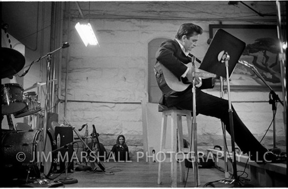Johnny Cash at San Quentin, 1969. - JIM MARSHALL
