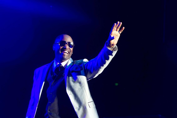 Johnny Gill performed new solo material. - DOUGLAS ZIMMERMAN