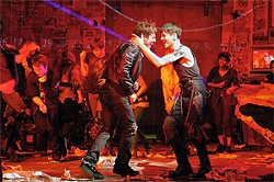 COURTESY OF MELLOPIX.COM - Johnny (John Gallagher Jr.) and St. Jimmy (Tony Vincent) in American Idiot.