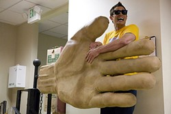 Johnny Knoxville is even more of a gigantic Jackass in 3-D.