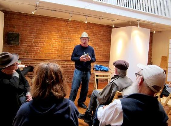 Jonah Raskin reads from Marijuanaland: Dispatches from an American War.