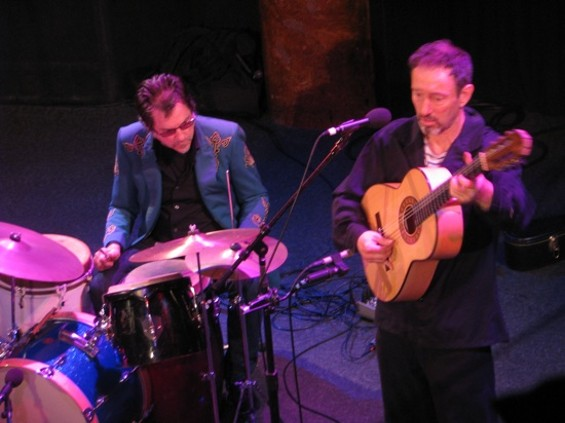 Jonathan Richman at Great American Music Hall last night. - JULIA LITMAN-CLEPER