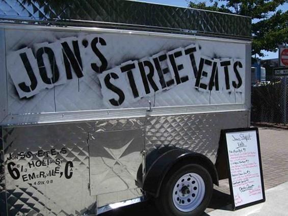 Jon's Street Eats' Jon Kosorek, who got his start at the CIA at Greystone, is returning to the Napa Valley. - TAMARA PALMER
