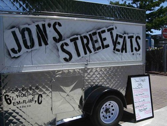 Jon's Street Eats' Jon Kosorek, who got his start at the CIA at Greystone, is returning to the Napa Valley. - TAMARA PALMER