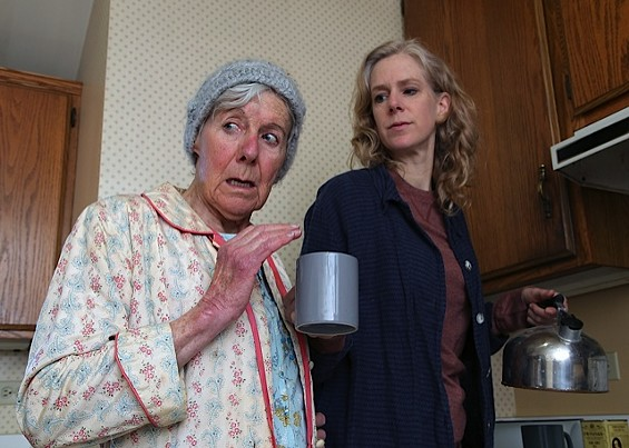 Joy Carlin and Beth Wilmurt - ED SMITH