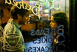 Jude Law and Norah Jones meet in a New York diner.