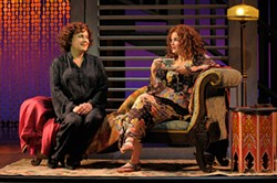 KEVIN BERNE - Judy Kaye and Mary Birdsong as likable women caught in silly plots.