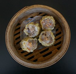 ALEX LEBER - Juicy pork shu mai.