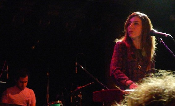Julia Holter at Great American Music Hall last night.
