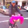 "Local Dude Rides ""Mustache and Titties"" Bike Through San Francisco"
