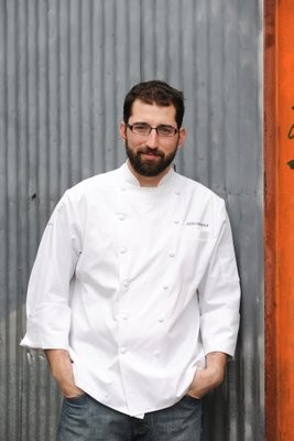 Justin Simoneaux, chef of Boxing Room. - LIZA GERSHMAN