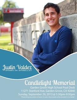 Justin Valdez was shot as he exited Muni - VIA FACEBOOK