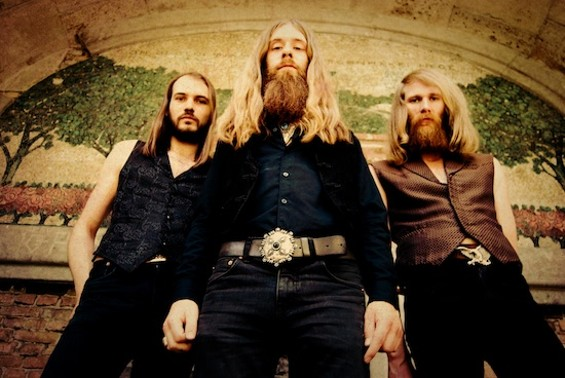 Kadavar performs at Bottom of the Hill tonight.
