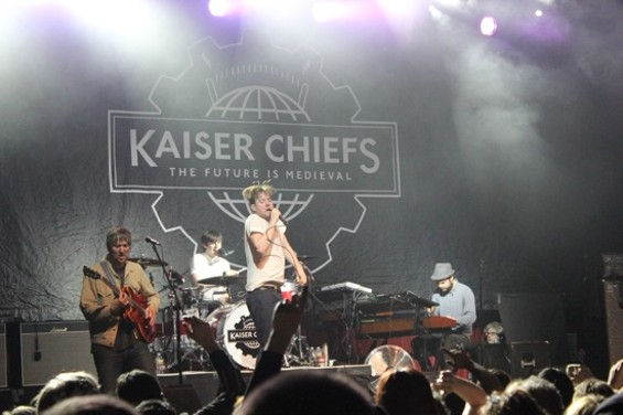 Kaiser Chiefs at the Fillmore last night.