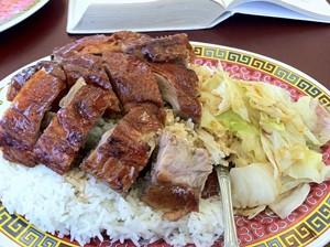 Kam Po says its turkey will look as good as its roast duck. - JONATHAN KAUFFMAN