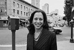 BRANDON  FERNANDEZ - Kamala Harris is under fire from - both of her - male opponents over her former fling - with - Mayor Willie Brown.