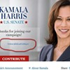 "Kamala Harris Senate Site Urges Visitors to ""Follow @EdLeeForMayor"""