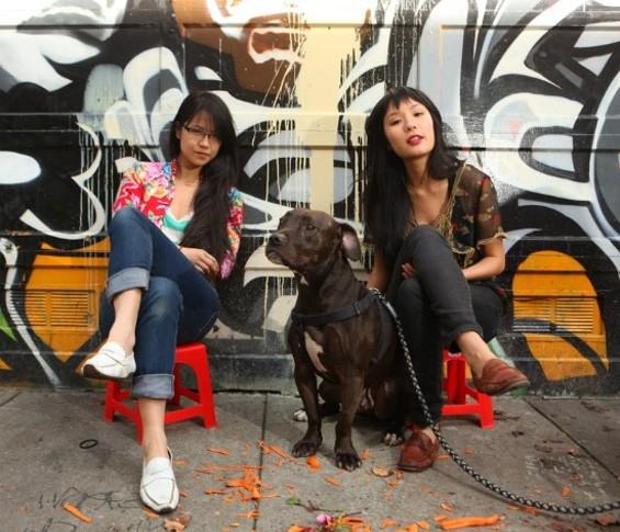 Katie Kwan, left, and Valerie Luu - PHIL CARTER