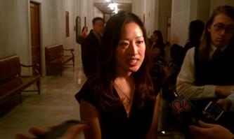 Katy Tang, local woman made good - JOE ESKENAZI