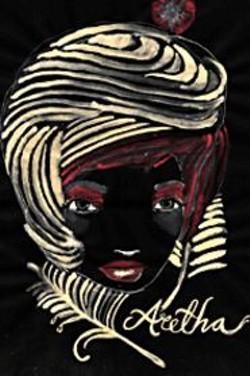 Kelly Tunstall's vision of Aretha Franklin.