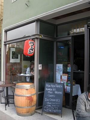 Ken Ken hung up its lantern at Panchita's #3, shown here. Tomorrow it reopens at its new Thursday-night location, The Corner. - LUIS CHONG