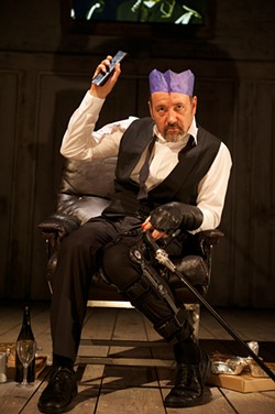 MANUEL HARLAN - Kevin Spacey's Richard III will be wanting a horse later.
